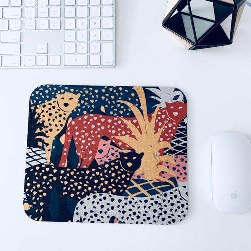 Big Cat  Tropical  Mousepad