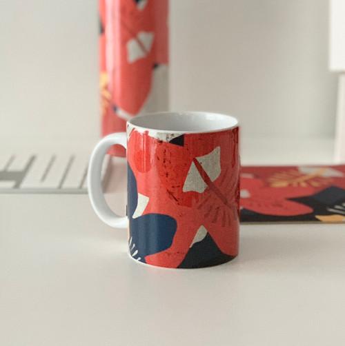 Hibiscus Coffee Mug