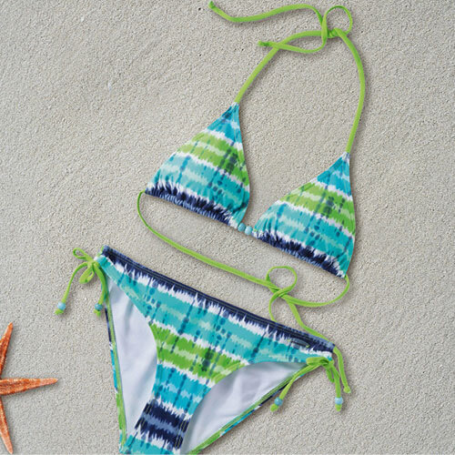 Two piece bikini swimsuit