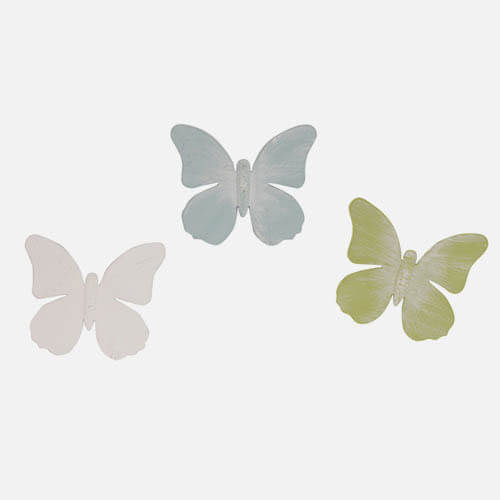 Butterfly window magnets