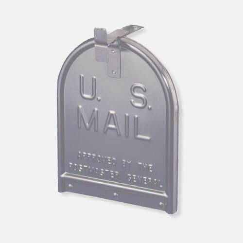 Mailbox replacement door