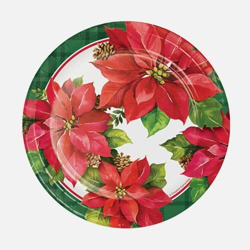 Paper Christmas Plates