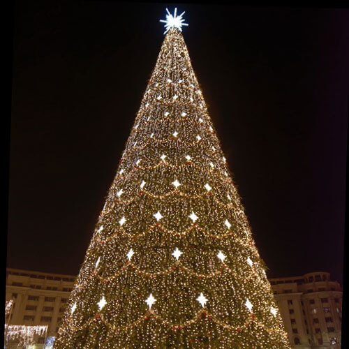 Commercial artificial Christmas tree