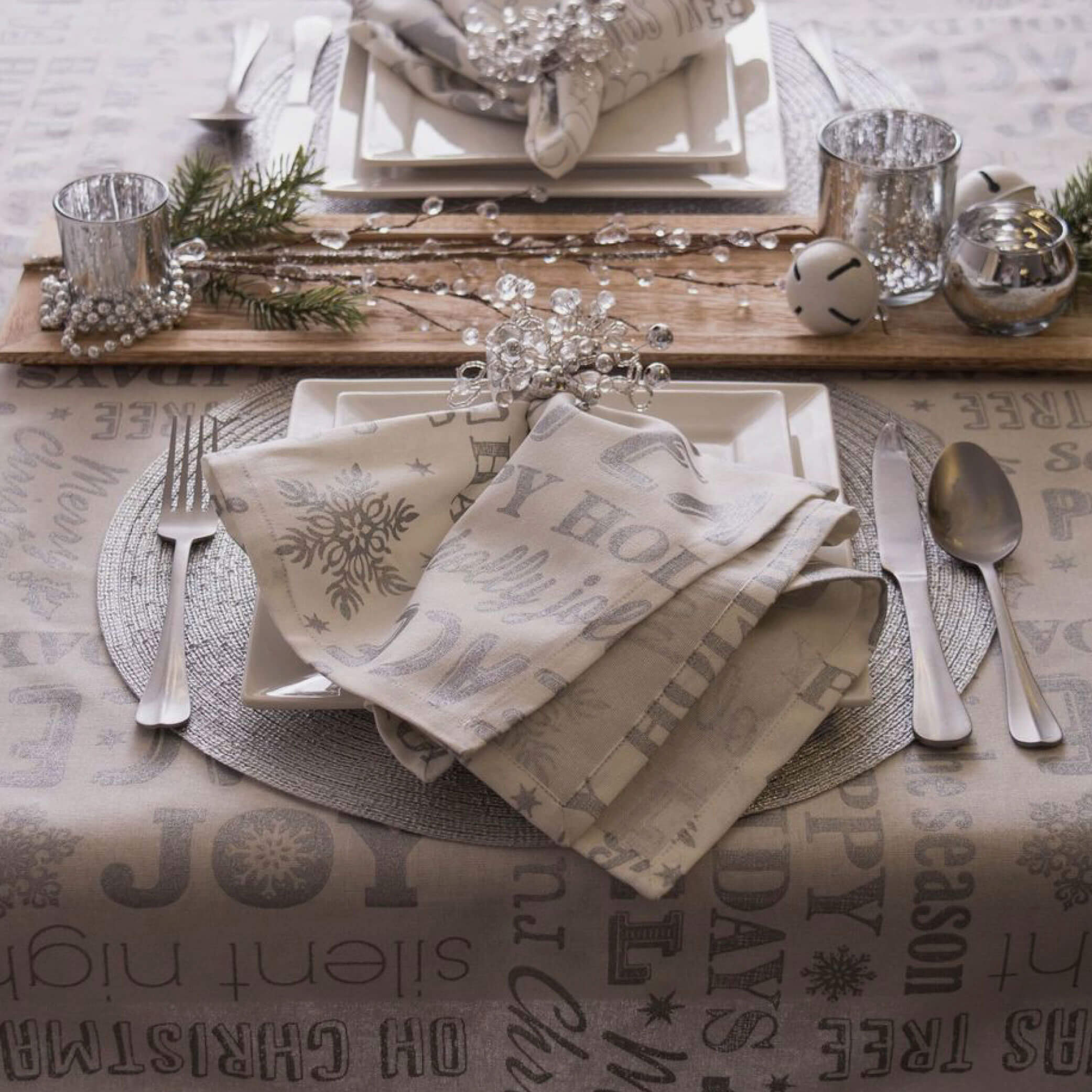 Christmas kitchen linen set