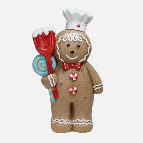Gingerbread figure