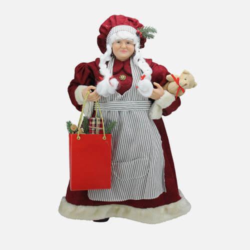 Mrs. Claus figure