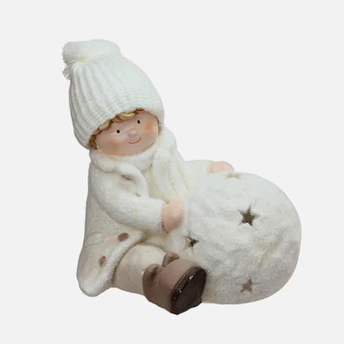 Christmas child figure