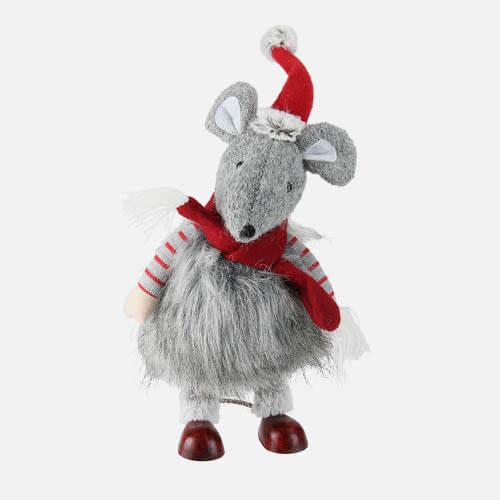 Plush Christmas mouse