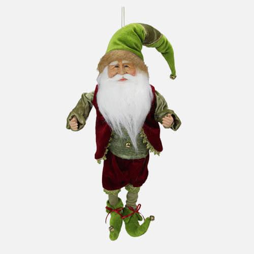 Christmas elf figure