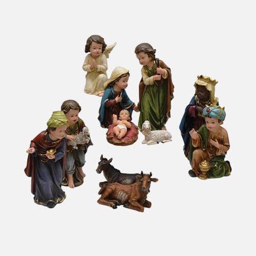 Nativity figures & animals
