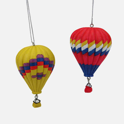 Hot air balloon ornaments