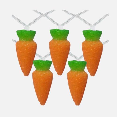 Easter carrot lights