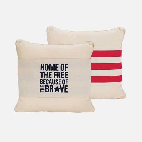 Patriotic pillows