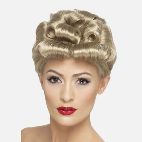 Womens costume wig