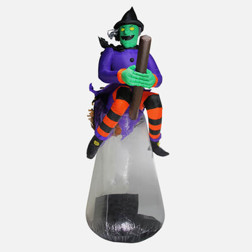 Inflatable Halloween witch