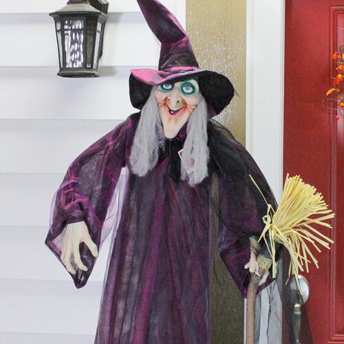 Halloween witch figure