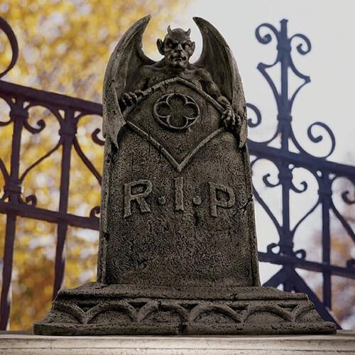 Tombstone deocration