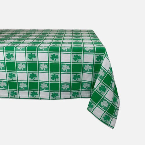 Shamrock tablecloth