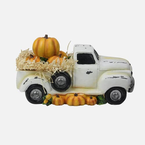 Thanksgiving truck decoration