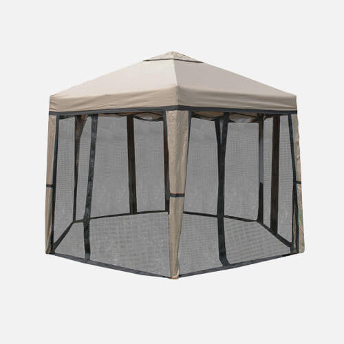 Outdoor picnic tent