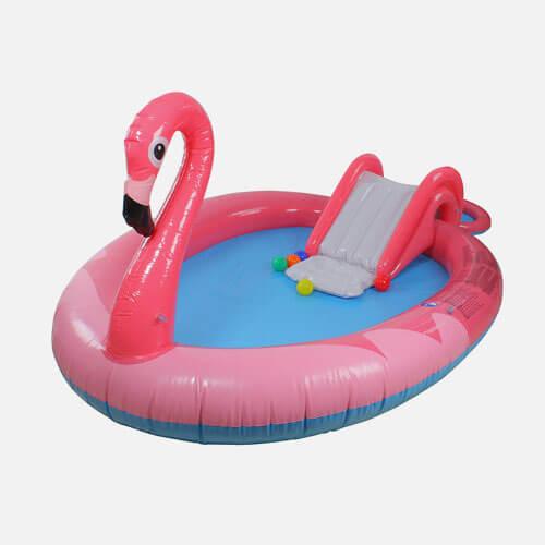 Flamingo kiddie pool