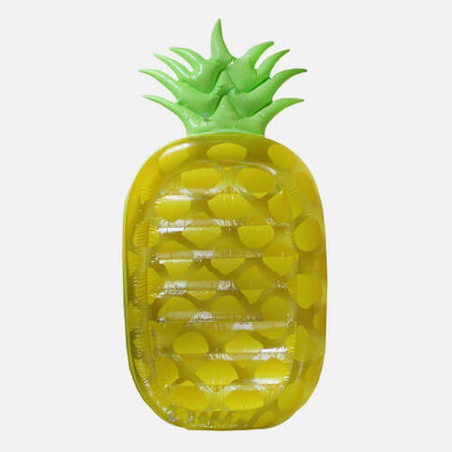 Pineapple pool lounger