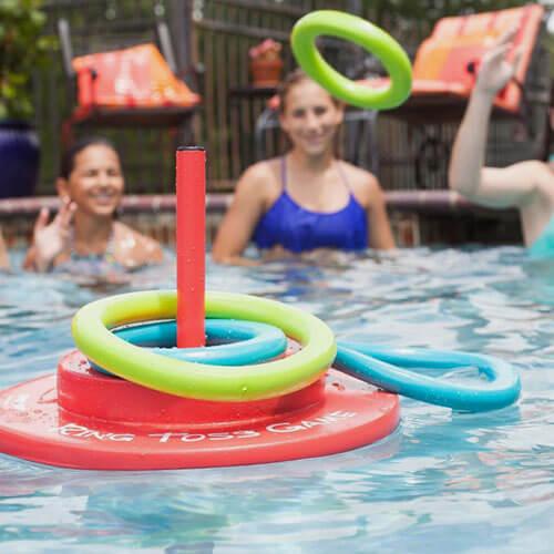Pool ring toss
