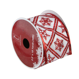 Pack Of 12 Holiday Festive Red Green Plaid Wired Christmas Craft Ribbon Spools 2 5 X 120 Yards Total Christm