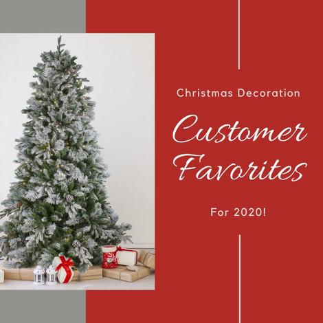 Christmas Decoration Customer Favorites 2020 Edition