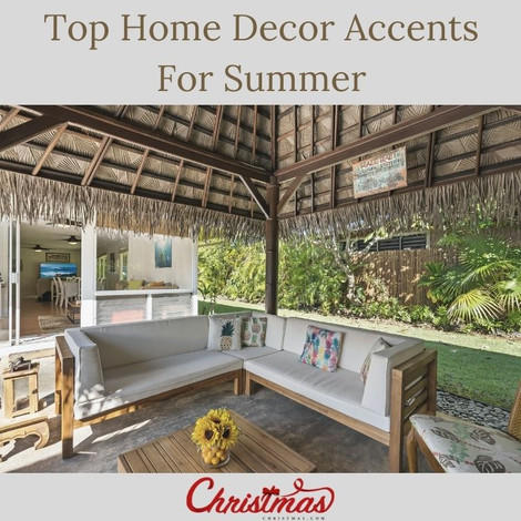 Top Home Decor Accents For Summer