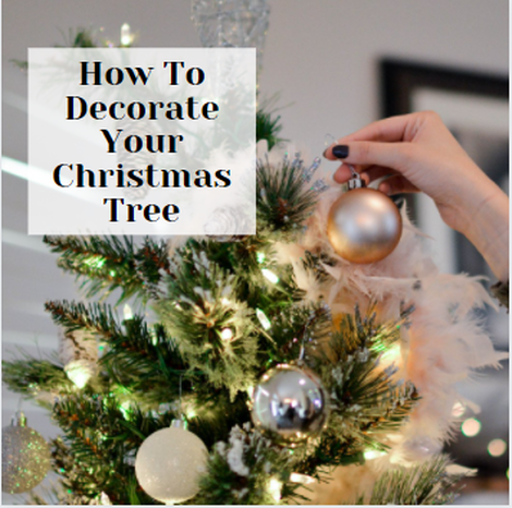 Decorate Your Christmas Tree In 6 Simple Steps