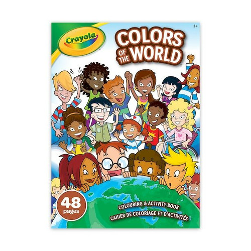 Crayola Colors of the World Coloring & Activity Book - 48 Pages