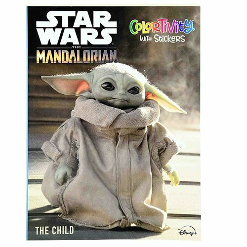 Star Wars The Mandalorian Coloring Book - 48 Pages - Stickers Included