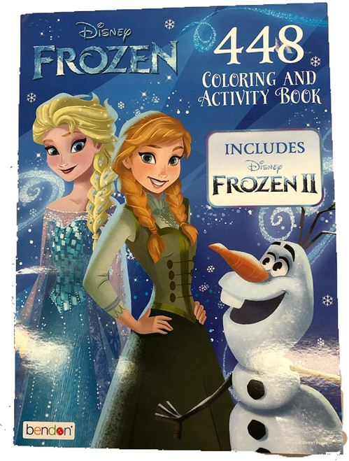 Coloring Book - Frozen - Coloring and Activity Book - 448 Pages