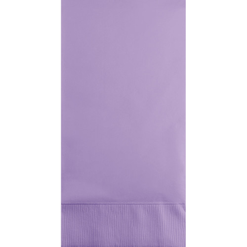 """Club Pack of 192 Luscious Purple Solid 3-Ply Disposable Party Napkins 8"""""""