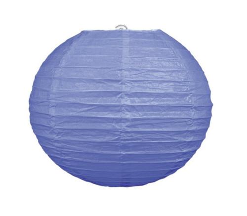 "Club Pack of 18 Round Lavender Purple Hanging Paper Lanterns 9.5"""
