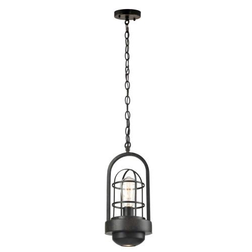 "44"" Black Hanging Pendant Ceiling Light Fixture"