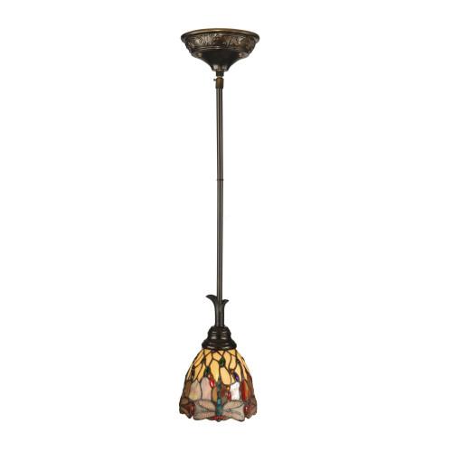 "46"" Bronze Corrall Hanging Pendant Ceiling Light Fixture"