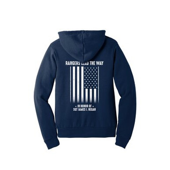 Regular String Navy Sweatshirt