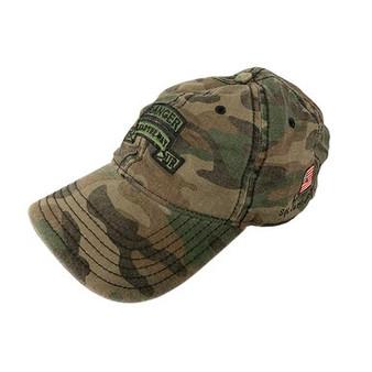 Camo Hat Green Scroll