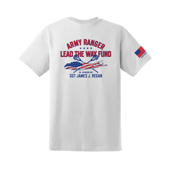 White Short Sleeve Lax Shirt - Dri-fit