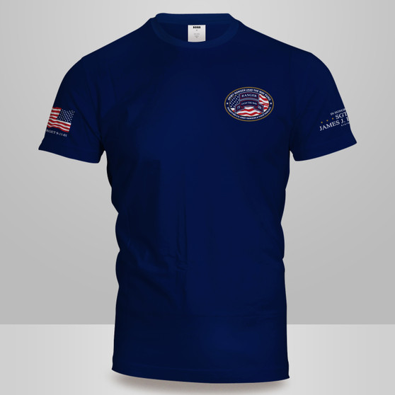 Navy Oval Logo - XL ONLY