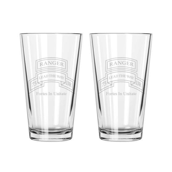 Set of 2 Pint Glasses