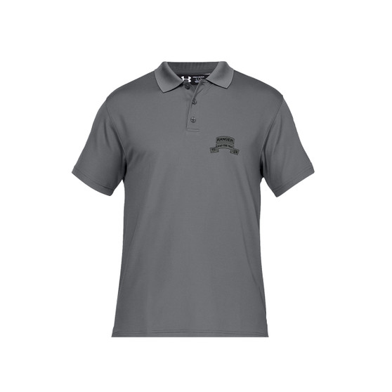 Men's Short Sleeve Under Amour Graphite Polo