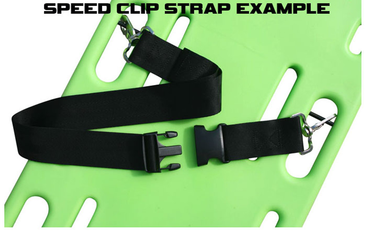 383fd7d4ed Nylon 2 pc. Metal Buckle   Speed Clip Spineboard Strap - 5 ...