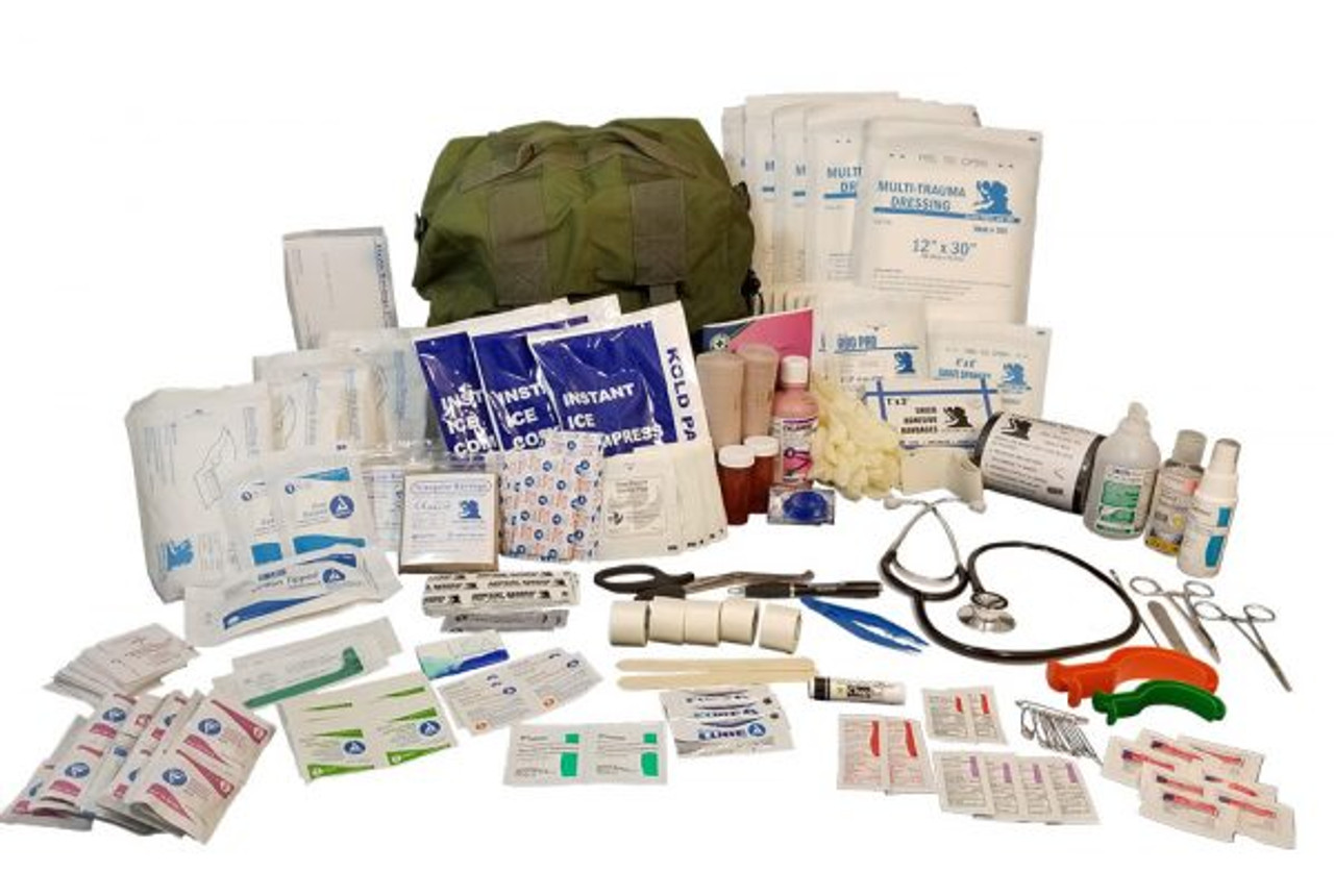 Military M17 Medical Bag - Full Kit