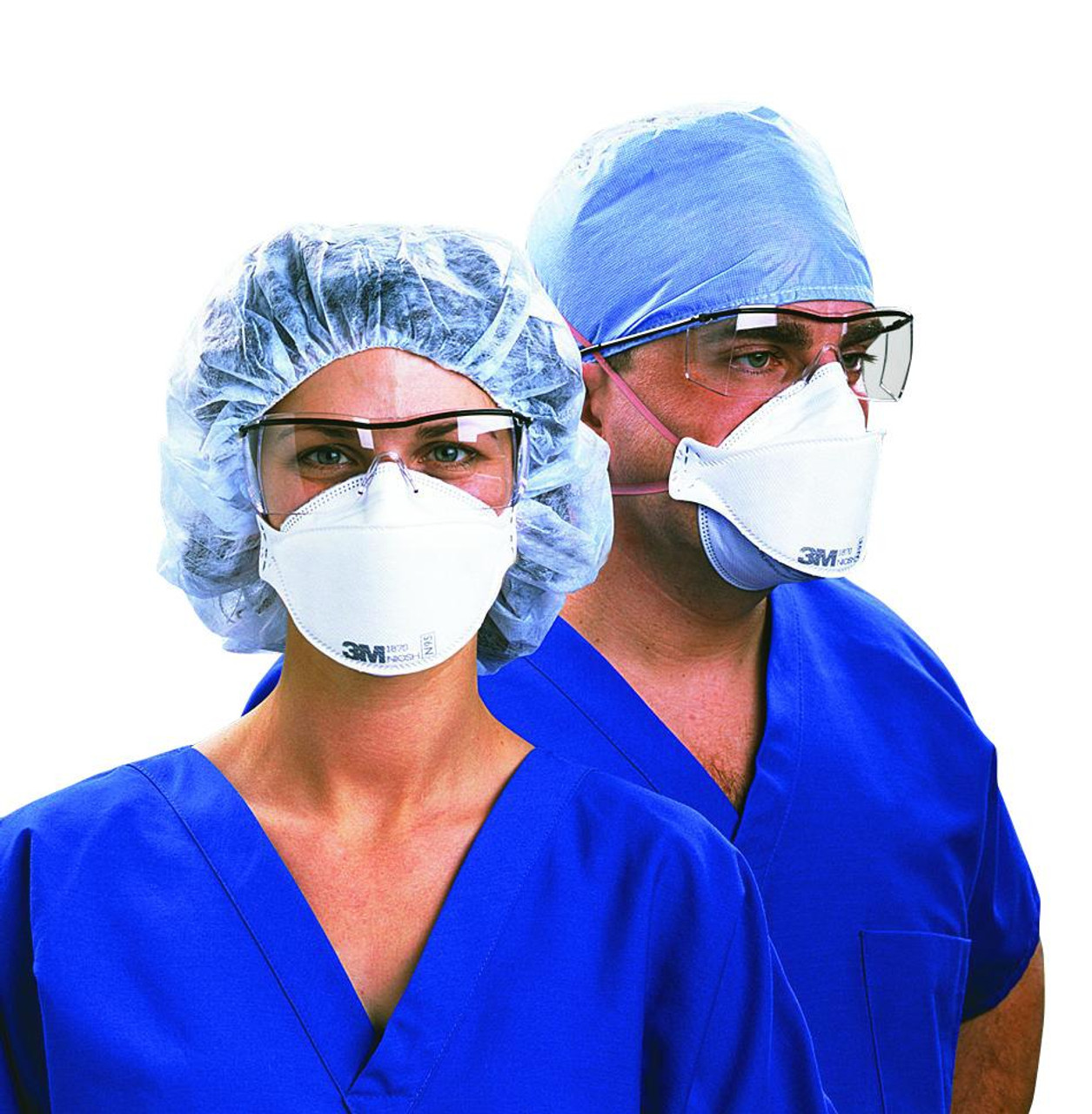 3m aura n95 respirator and surgical mask