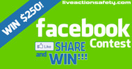 Live Action Safety $250 Like Share & Win Contest