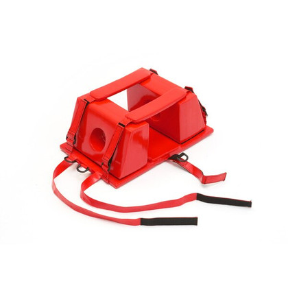 Universal Head Immobilizer color red