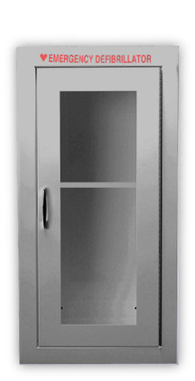 Tall Size Stainless Steel AED Wall Cabinet